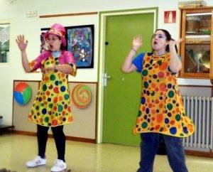 Animadores payasos magos comuniones Las Palmas