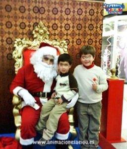 Papá Noel a domicilio en Las Palmas