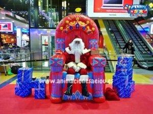 Contratar la visita de Papá Noel a domicilio en Las Palmas