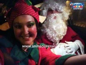 Visita a domicilio de Papá Noel en Las Palmas