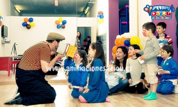 fiesta infantil a domicilio