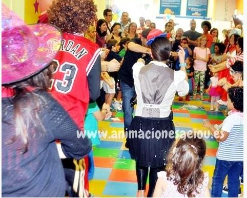 Payasos para fiestas infantiles en Arrecife