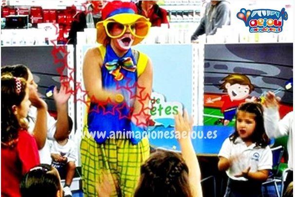 Payasos para fiestas infantiles en Arucas